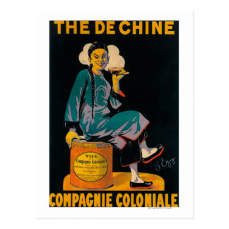 The De Chine, Colonial Company Promotional Poste Postcard