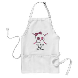 The Dead Craft No Tales (Pink) Apron