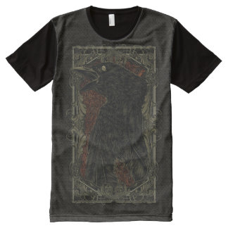 The Dead Crow All-Over Print T-Shirt