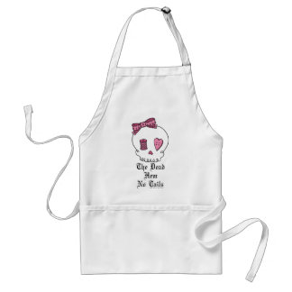 The Dead Hem No Tails (Pink) Aprons