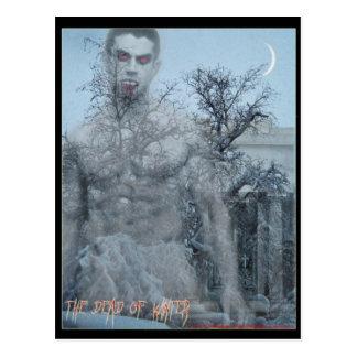 The dead of winter postcard