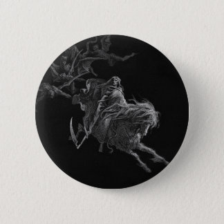 The Death 6 Cm Round Badge