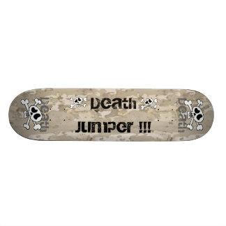 The death jumper skate board deck