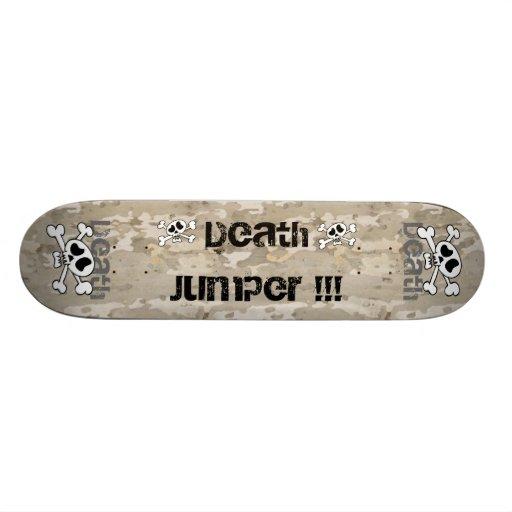 The death jumper!!! skate board deck