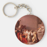 The Death of Caesar Basic Round Button Key Ring