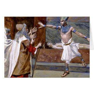 The Death Of Pharaoh's Son - 10th Plague Of Egypt Card