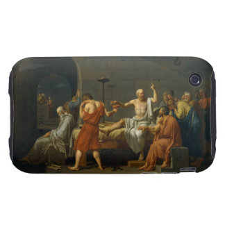 The Death of Socrates by Jacques-Louis David 1787 iPhone 3 Tough Case