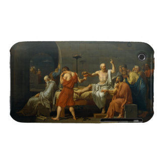 The Death of Socrates by Jacques-Louis David 1787 iPhone 3 Cases