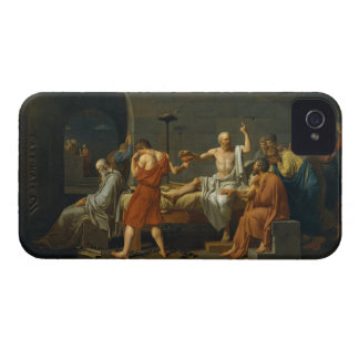 The Death of Socrates by Jacques-Louis David 1787 iPhone 4 Covers