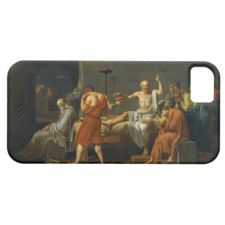 The Death of Socrates by Jacques-Louis David 1787 iPhone 5 Cover