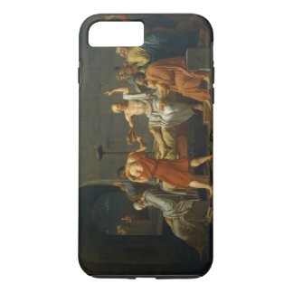 The Death of Socrates by Jacques-Louis David 1787 iPhone 7 Plus Case
