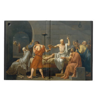 The Death of Socrates by Jacques-Louis David iPad Air Cover