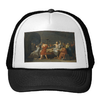 The Death Of Socrates Mesh Hats