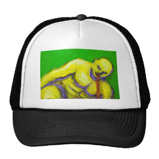 The Death of Socrates expressionism portrait Trucker Hats