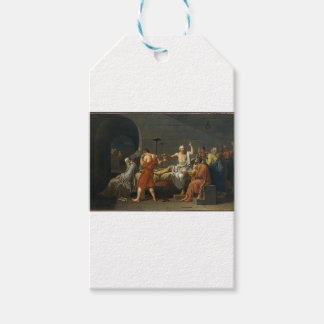 The Death of Socrates Gift Tags