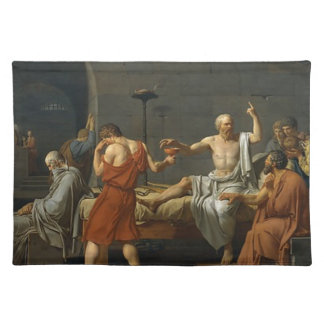The Death of Socrates Placemat