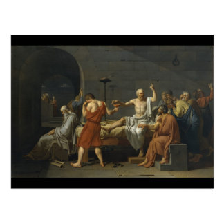 The Death of Socrates Postcard