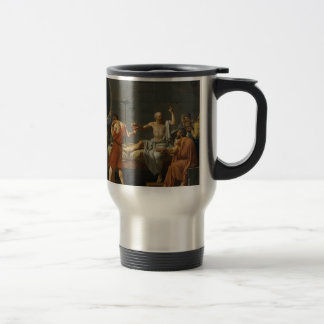 The Death of Socrates Travel Mug