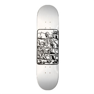 The Death - old Indian Asian Tarot Card 20.6 Cm Skateboard Deck