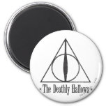 The Deathly Hallows 6 Cm Round Magnet