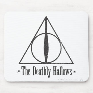 The Deathly Hallows Mouse Pad