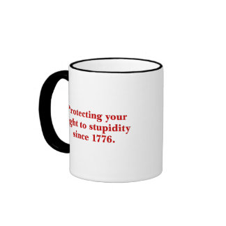 The Declaration of Independence is important Coffee Mug