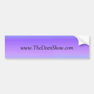 The Deen Show Bumper Sticker