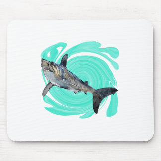 The Deep Blue Mouse Pad