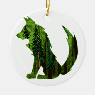 THE DEEP FOREST CERAMIC ORNAMENT