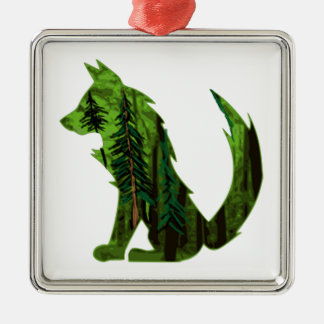THE DEEP FOREST METAL ORNAMENT