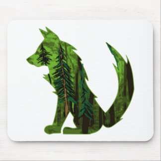 THE DEEP FOREST MOUSE PAD