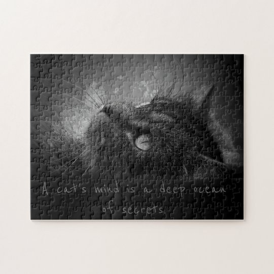 The deep ocean of a cats mind jigsaw puzzle