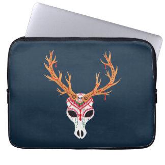 The Deer Head Skull Computer Sleeves