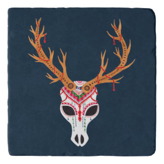 The Deer Head Skull Trivets