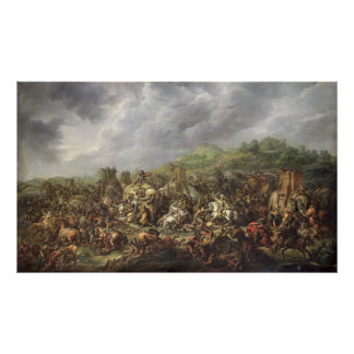 The Defeat of Porus by Alexander the Great Poster