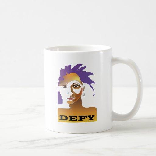 The Defy Dude Coffee Mugs