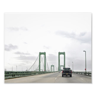 The Delaware Twin Bridge Photo Print