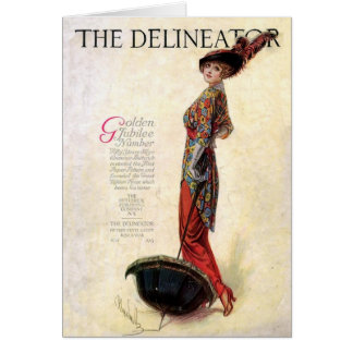 The Delineator 1913 Greeting Card