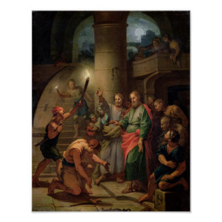 The Deliverance of St. Paul and St. Barnabas Poster