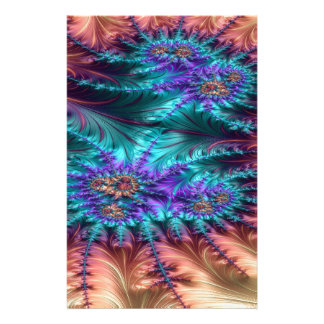 The Demoralized Stain Fractal Design Stationery