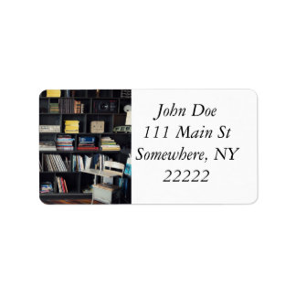 The Den Address Label