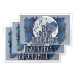 The Denim Revolution Acrylic Tray