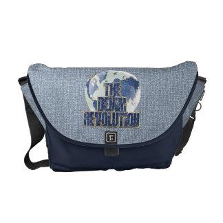 The Denim Revolution Courier Bag