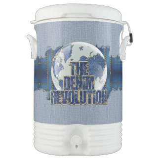The Denim Revolution Drinks Cooler