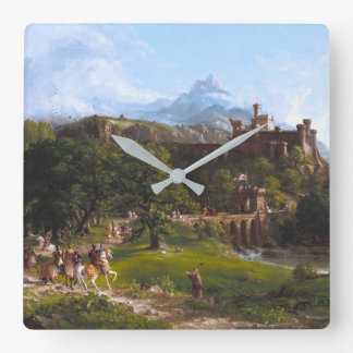 The Departure by Thomas Cole Wallclock