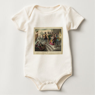 The Departure of Christopher Columbus Baby Bodysuit