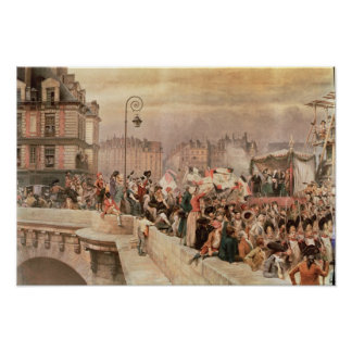 The Departure of the Volunteers 1792 Poster