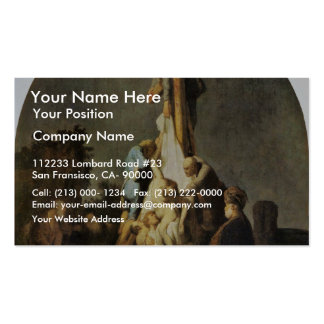 The Deposition. By Rembrandt Van Rijn Pack Of Standard Business Cards