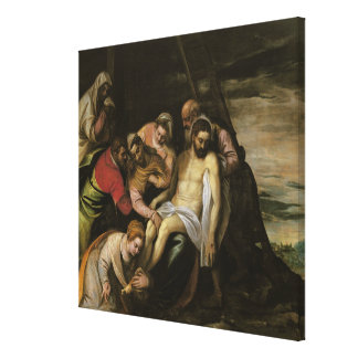 The Descent from the Cross Stretched Canvas Prints