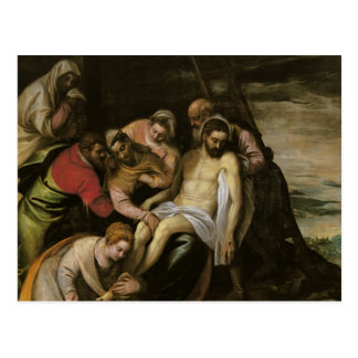 The Descent from the Cross Postcard